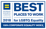 Best Place to Work LGBTQ Equality