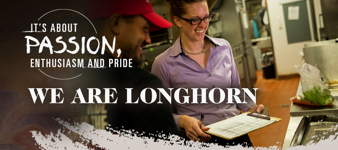 Careers Home at LongHorn Steakhouse